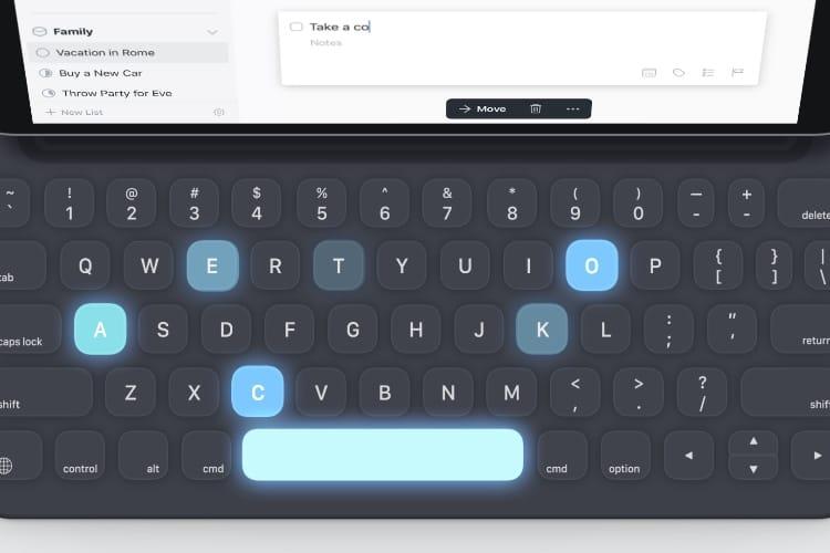 Things 3.6 gère les tâches entièrement au clavier sur iPad