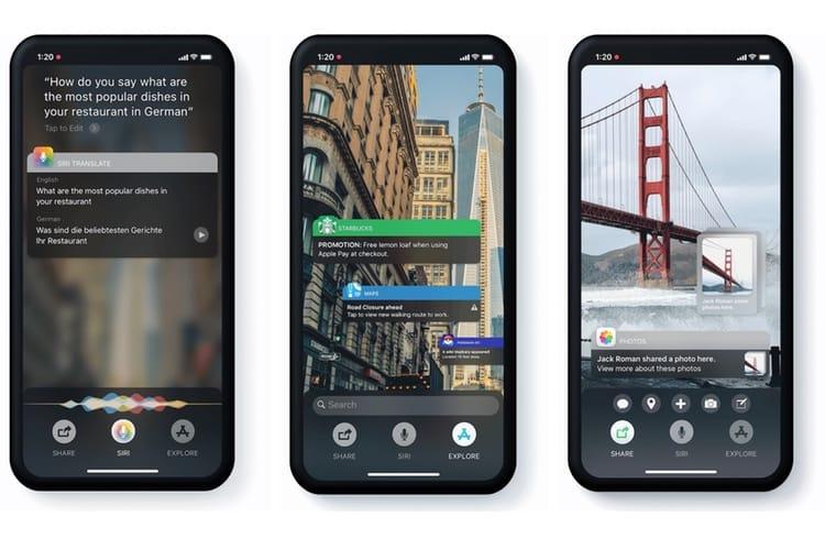 Concept: un iOS dopé à la réalité augmentée