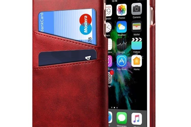 Promo: une coque en cuir avec porte-cartes pour iPhone à 10,2€ et un bracelet Apple Watch façon boucle Sport à 14,6€