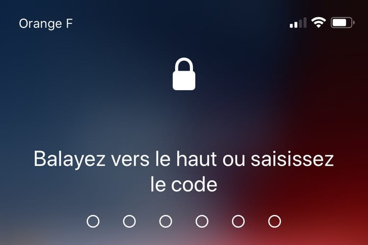 iOS12 simplifie le deuxième essai avec FaceID