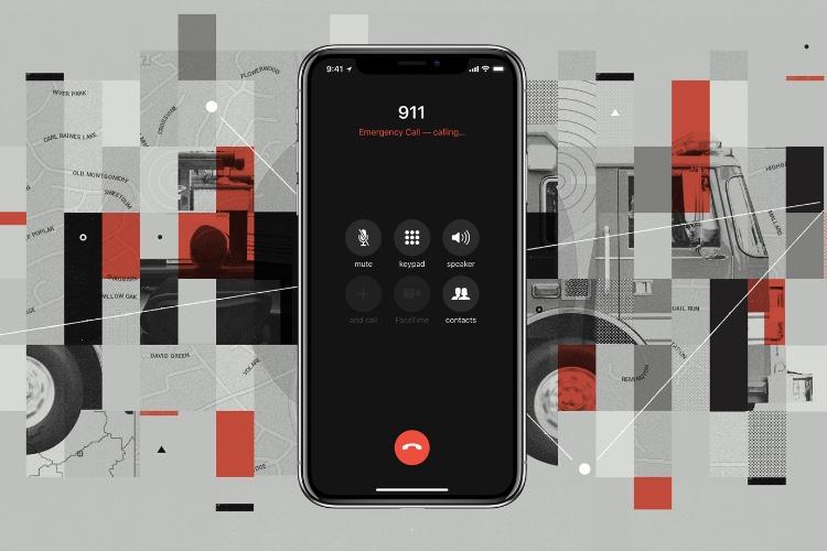 Aux États-Unis, iOS12 enverra la position d'un iPhone aux urgences