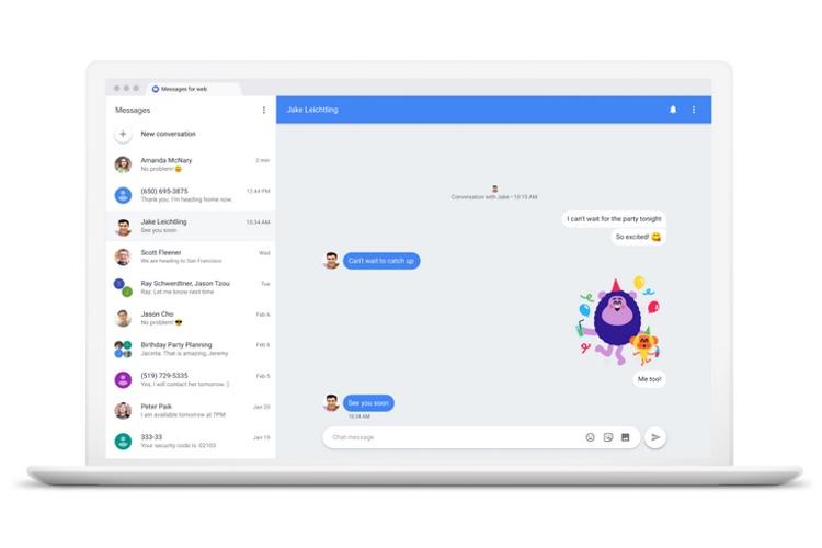 Google permet enfin d'envoyer des SMS avec Android depuis son ordinateur