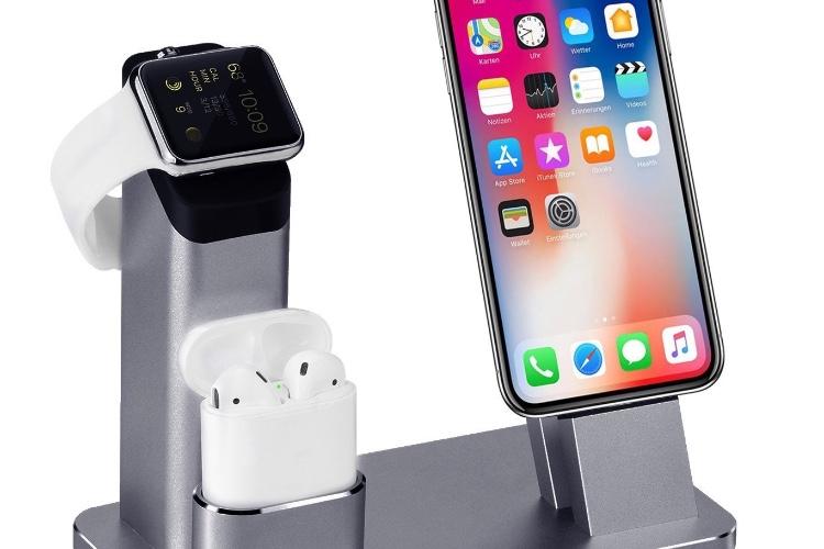 Un seul support pour charger votre iPhone, votre Apple Watch et vos AirPods